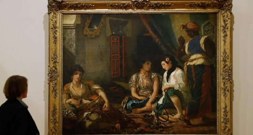 Un Delacroix Orientaliste Retrouve Et Expose A Paris Le Quotidien