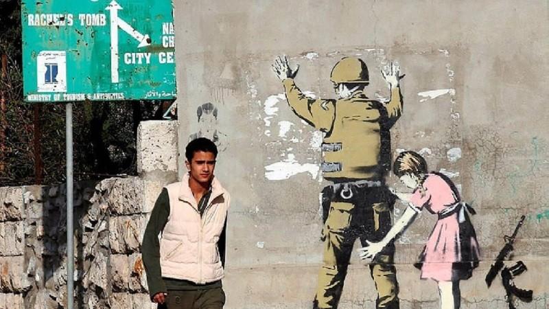 Banksy va verser la vente d'une œuvre à un hôpital palestinien