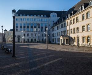 20200401: mercredi matin 1 avril 2020, la ville de Luxembourg est vide, Corona, Covid-19 @ EDITPRESS / Anne Rommel