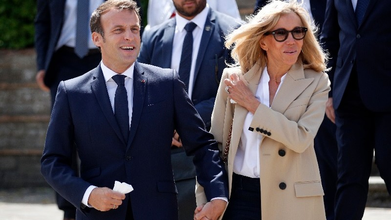 Brigitte Macron et la