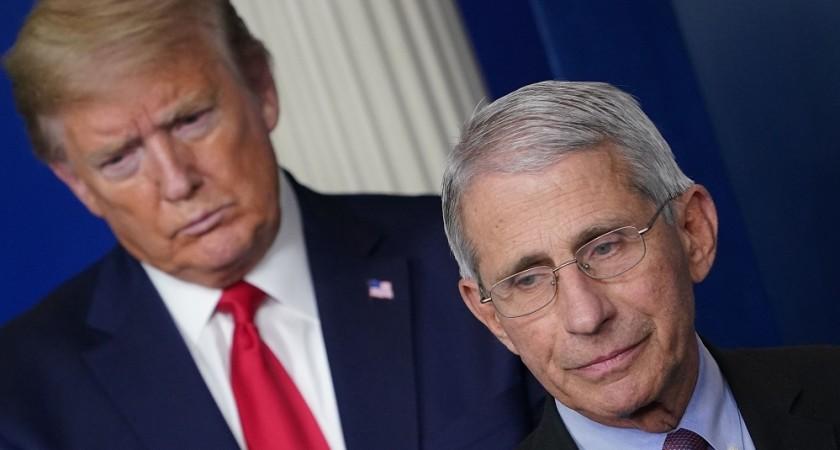 Trump suggère qu'il pourrait essayer de renvoyer le Fauci après les élections